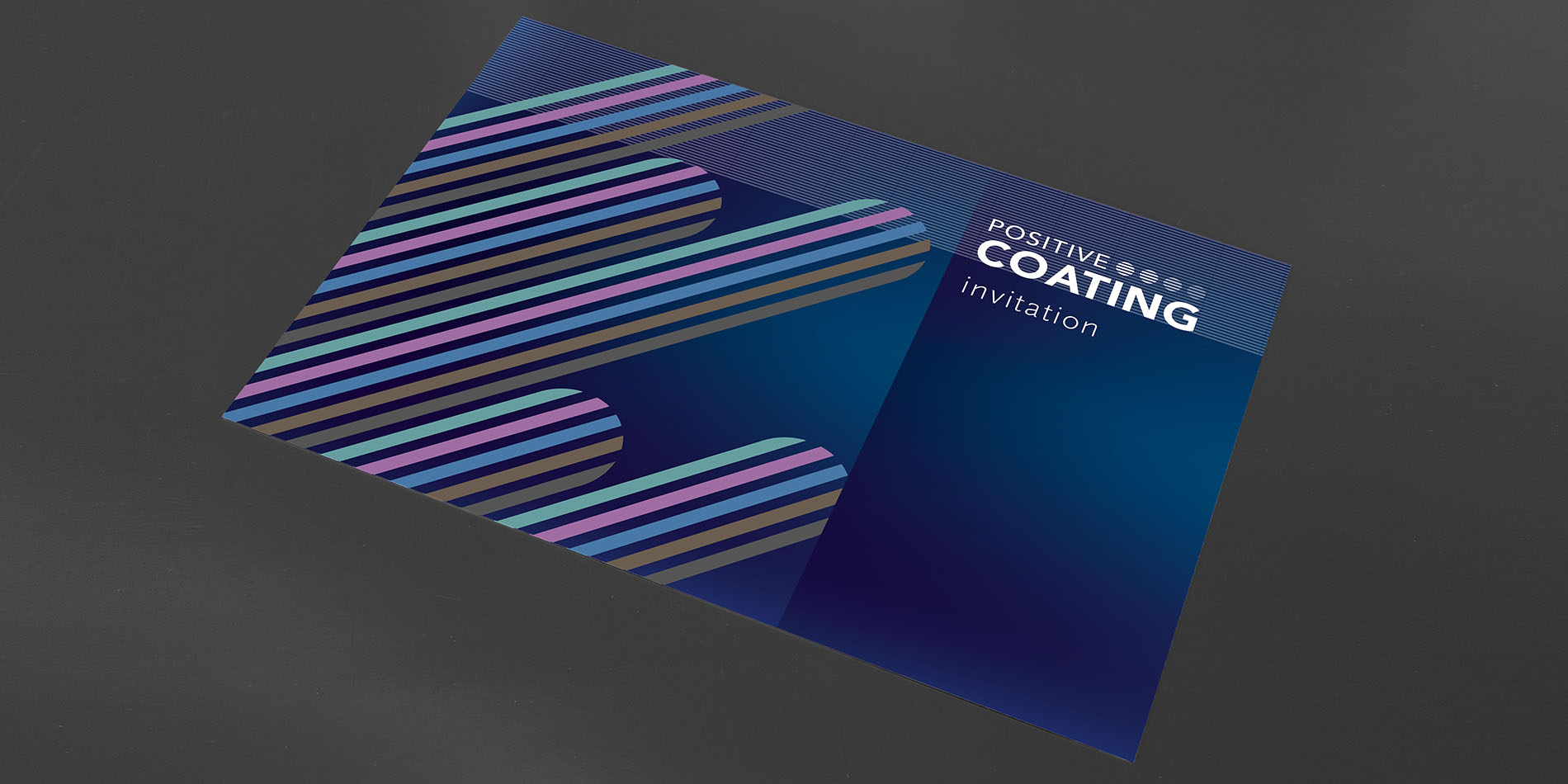 Positive Coating - Invitation EPHJ 2018 - B12communication, communication et graphisme