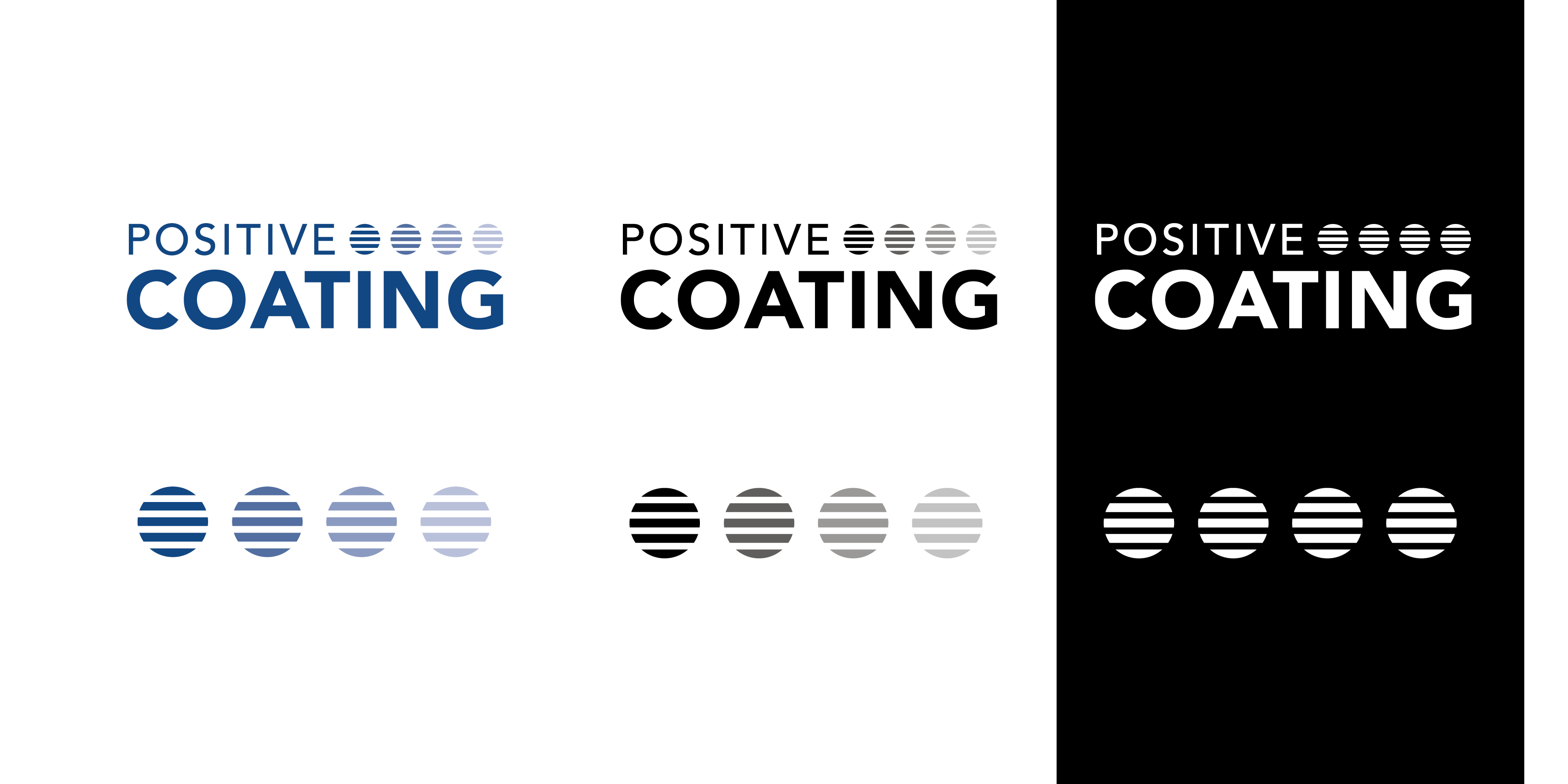 Positive Coating - Set administratif - B12communication, communication et graphisme