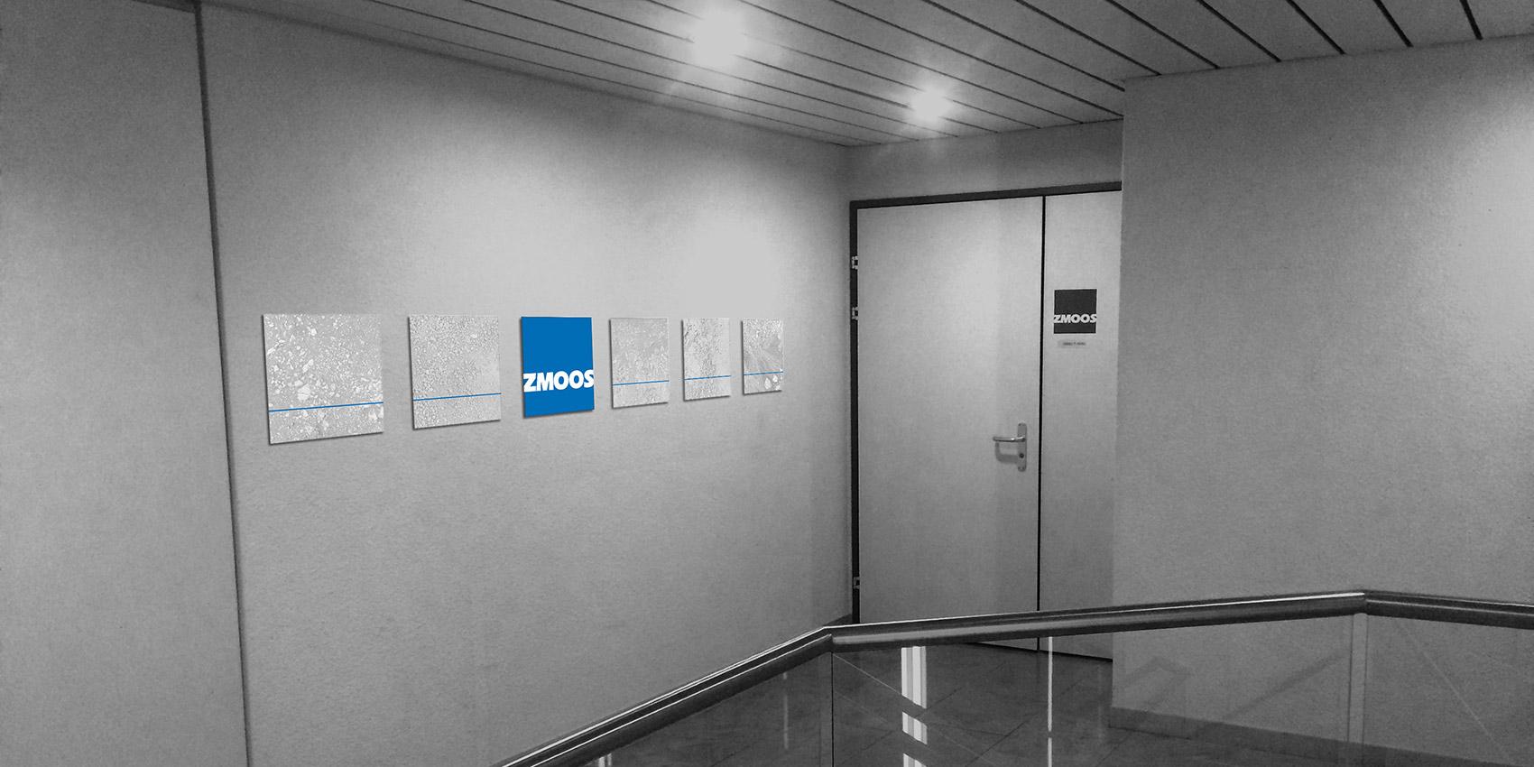 Zmoos - Signalétique - B12communication, communication et graphisme