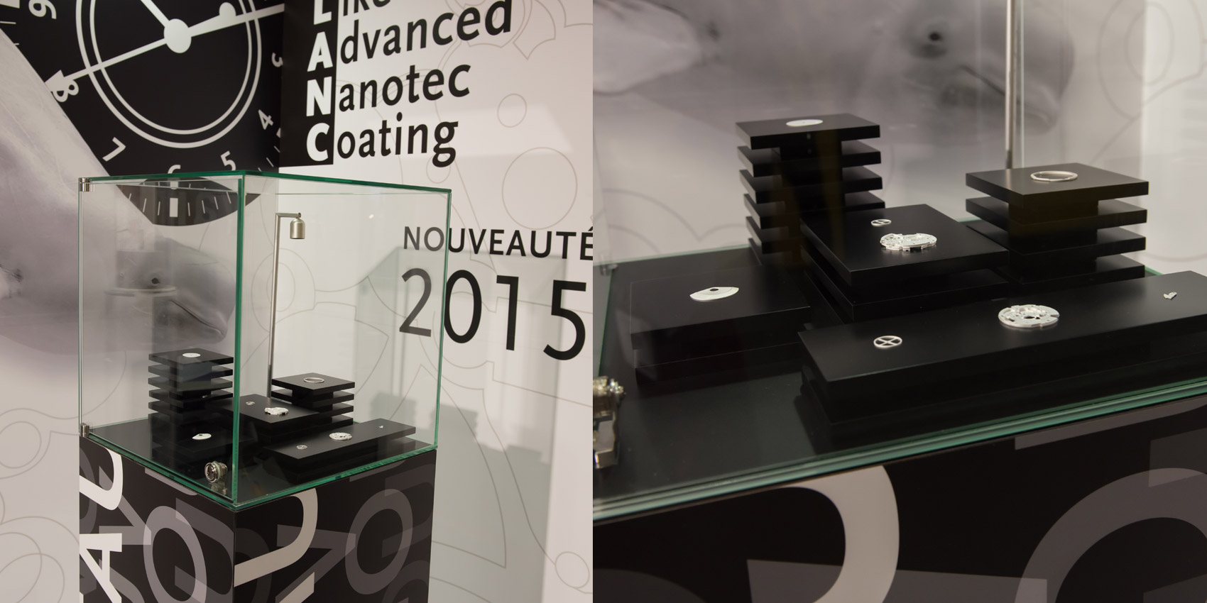 Positive Coating - Vitrine EPHJ 2016 - B12communication, communication et graphisme